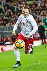 November 13, 2017 - Gdansk, Poland - Piotr Zielinski (POL) during the International Friendly match between Poland and Mexico at Energa Stadium in Gdansk, Poland on November 13, 2017. (Credit Image: © Foto Olimpik/NurPhoto via ZUMA Press)