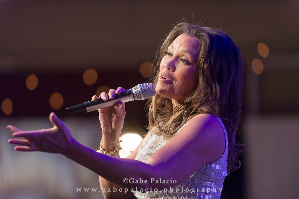 Broadway Star Vanessa Williams performs during the Harvey Centennial Ball: A Night to Remember at the Harvey School on April 16, 2016. (photo by Gabe Palacio)