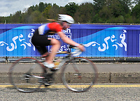 Photo: Paul Greenwood/Richard Lane Photography. Strathclyde Park Elite Triathlon. 17/05/2009. <br />England's Jessica Stimpson competes in the cycle part if the triathlon.