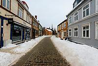 Bakklandet (Old Town), Trondheim, Norway.