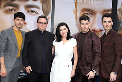 Jonas Brothers' Chasing Happiness Premiere. 03 Jun 2019 Pictured: Joe Jonas, Nick Jonas, Kevin Jonas, Parents. Photo credit: Jaxon / MEGA TheMegaAgency.com +1 888 505 6342