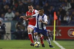 February 5, 2018 - Na - Porto, 02/03/2018 - Futebol Clube do Porto received the Sporting Clube de Braga tonight at Estádio do Dragão, in a game to count towards the 21st day of the I Liga 2017/18. Jefferson; Corona  (Credit Image: © Atlantico Press via ZUMA Wire)