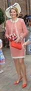Beatrix opent tentoonstelling Máxima, 10 jaar in Nederland.//<br /> Queen Beatrix opens the exibition Maxima 10 years in the Netherlands<br /> <br /> Op de foto: Maxima