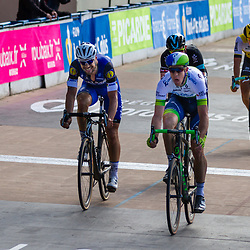 10-04-2016: Wielrennen: Parijs Roubaix: Roubaix<br /> Matthew Hayman wins Paris-Roubaix