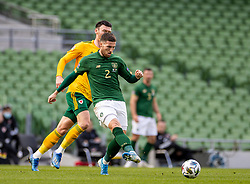 DUBLIN, REPUBLIC OF IRELAND - Sunday, October 11, 2020: Republic of Ireland's Matt Doherty during the UEFA Nations League Group Stage League B Group 4 match between Republic of Ireland and Wales at the Aviva Stadium. The game ended in a 0-0 draw. (Pic by David Rawcliffe/Propaganda)