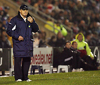 Photo: Rich Eaton.<br /> <br /> Crewe Alexander v Manchester United. Carling Cup. 25/10/2006. Dario Gradi manager of Crewe