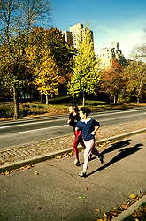 New York: Manhattan, Jogging, Central Park,  Photo: nymanh104.Photo copyright Lee Foster, www.fostertravel.com, 510/549-2202, lee@fostertravel.com