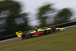 June 22, 2018 - Elkhart Lake, Wisconsin, United States of America - SEBASTIEN BOURDAIS (18) of France takes to the track to practice for the KOHLER Grand Prix at Road America in Elkhart Lake, Wisconsin. (Credit Image: © Justin R. Noe Asp Inc/ASP via ZUMA Wire)