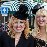 NLD/Amsterdam/20100913 - Verjaardagsfeestje Modemeisjes met een missie, Yvonne Keeley en dochter Roxy