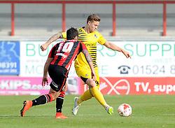 James Clarke - Mandatory byline: Neil Brookman/JMP - 07966 386802 - 03/10/2015 - FOOTBALL - Globe Arena - Morecambe, England - Morecambe FC v Bristol Rovers - Sky Bet League Two