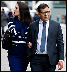 June 8, 2017 - London, London, United Kingdom - Image ©Licensed to i-Images Picture Agency. 08/06/2017. London, United Kingdom. Mohamed Amrani at the Old Bailey. .Heart surgeon, Mohamed Amrani, arrives at the Central Criminal Court, Old Bailey for sentencing. The surgeon worked at the Harefield Hospital in West London, and was found guilty of twice indecently assaulting a woman by groping her breasts through her clothes between 2003 and 2004 and sexually assaulting another woman in 2014. Picture by i-Images (Credit Image: © i-Images via ZUMA Press)