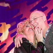 NLD/Zaandam/20190219- Première Karin Bloemen Souvenirs, Karin Bloemen en partner Marnix Busstra