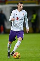 Federico Bernardeschi Fiorentina<br /> Milano 17-01-2016 Stadio Giuseppe Meazza - Football Calcio Serie A Milan - Fiorentina. Foto Giuseppe Celeste / Insidefoto