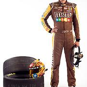 Portrait of NASCAR driver and champion Kyle Busch.