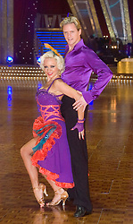 Kristina Rihanoff and Matthew Cutler pose at the Strictly Come Dancing on tour Photo call MEN Arena 21 January 2009 © Paul David Drabble