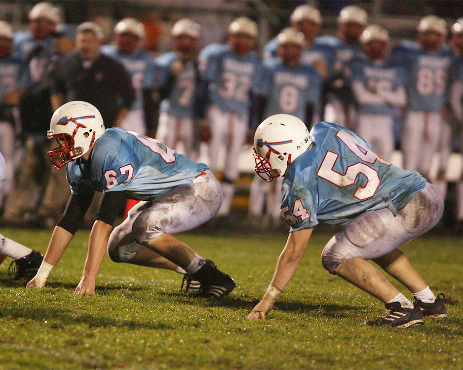 Saint Joseph's High School Varsity Football 2008.Saint Joseph's (35) vs. John Glenn (0)