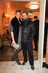 DANIEL BARBER and SANDRA BARBER at the Fantasy Ball in aid if children's cancer charity CLIC Sargent held at The Dorchester, Park Lane, London on 11th November 2010.
