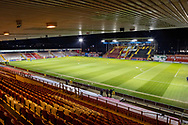 General View of the ground before  the EFL Sky Bet League 1 match between Lincoln City and Shrewsbury Town at Sincil Bank, Lincoln, United Kingdom on 15 December 2020.
