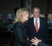 CAREY LOVELACE; AMBASSADOR DAVID THORNE, The Bronx Museum of the Arts, Tanya Bonakdar Gallery and the Victoria Miro Gallery host a reception and dinner in honor of Sarah Sze: Triple Point. Representing the United States of America at the 55th Biennale di Venezia with the Co  Commissioners of the  U. S. Pavilion Holly Block, Executive Director of the Bronx Museum of the arts  and Carey Lovelace. <br /> <br /> Rialto Fish market. Venice. . 29 May 2013
