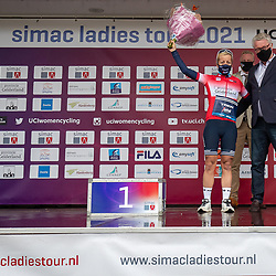 ARNHEM (NED) CYCLING, SIMAC LADIES TOUR,   August 29th 2021, <br /> Trixi Worrack and Jan Markink