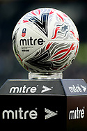 The official match ball of the FA Cup 3rd round match between Derby County and Southampton at the Pride Park, Derby, England on 5 January 2019.
