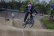#14 (CALEYRON Quentin) FRA at the 2016 UCI BMX Supercross World Cup in Papendal, The Netherlands.