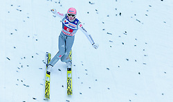 03.01.2016, Bergisel Schanze, Innsbruck, AUT, FIS Weltcup Ski Sprung, Vierschanzentournee, Bewerb, im Bild Severin Freund (GER) // Severin Freund of Germany reacts after his Competition Jump of Four Hills Tournament of FIS Ski Jumping World Cup at the Bergisel Schanze, Innsbruck, Austria on 2016/01/03. EXPA Pictures © 2016, PhotoCredit: EXPA/ JFK