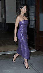 August 20 2018, New York City<br /> <br /> Actress Olivia Munn leaves a downtown hotel on her way to the MTV Music Video Awards on August 20 2018 in New York City