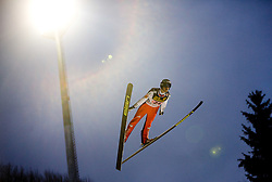 Robert Kranjec of Slovenia competes during First round of the FIS Ski Jumping World Cup event of the 58th Four Hills ski jumping tournament, on January 6, 2010 in Bischofshofen, Austria. (Photo by Vid Ponikvar / Sportida)