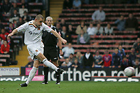 Photo: Lee Earle.<br /> Crystal Palace v Hull City. Coca Cola Championship. 06/10/2007. Hull's Dean Marney scores their equaliser from the penalty spot.