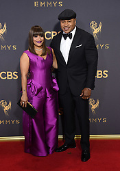 September 17, 2017 Los Angeles, CA Liev Schreiber 69th Emmy Awards - Arrivals held at the Microsoft Theatre L.A. Live © OConnor-Arroyo / AFF-USA.com. 17 Sep 2017 Pictured: LL Cool J and Simone Smith. Photo credit: MEGA TheMegaAgency.com +1 888 505 6342