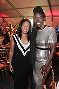 Bridgehampton, New York, NY-July 15: (L-R) Michelle Ebanks, Essence Communications and Bozoma Saint John (Honoree) attends The 2017 RUSH Philanthropic's  Art For Life held at Fairview Farms on July 15, 2017 in Bridgehampton, New York. (Photo by Terrence Jennings/terrencejennings.com)