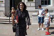 Theresa Villiers MP, Enviroment Secretary leaving the Cabinet office in Whitehall, London, United Kingdom on 22nd August 2019.
