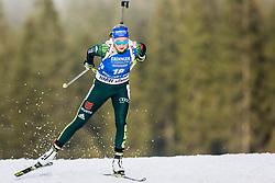 Franziska Preuss (GER) during Women 15km Individual at day 5 of IBU Biathlon World Cup 2018/19 Pokljuka, on December 6, 2018 in Rudno polje, Pokljuka, Pokljuka, Slovenia. Photo by Ziga Zupan / Sportida