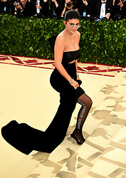 Kylie Jenner attending the Metropolitan Museum of Art Costume Institute Benefit Gala 2018 in New York, USA.