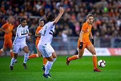 05-04-2019 NED: Netherlands - Mexico, Arnhem<br /> Friendly match in GelreDome Arnhem. Netherlands win 2-0 / Vivianne Miedema #9 of The Netherlands