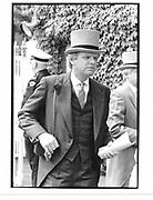 Michael Grade. Ascot. 1991 approx. © Copyright Photograph by Dafydd Jones 66 Stockwell Park Rd. London SW9 0DA Tel 020 7733 0108 www.dafjones.com
