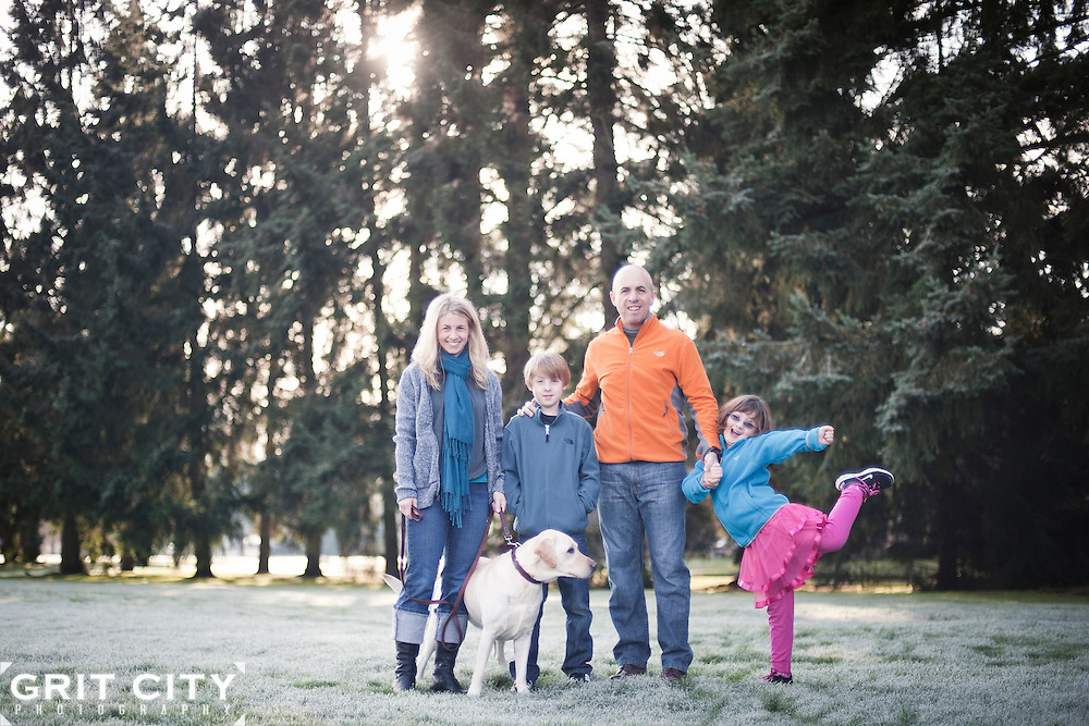 Joint Base Lewis-McChord family portrait photographer   Grit City Photography