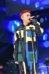 Olly Alexander from Years & Years during Capital's Summertime Ball with Vodafone at Wembley Stadium, London. This summer's hottest artists performed live for 80,000 Capital listeners at Wembley Stadium at the UK's biggest summer party. Performers included Camila Cabello, Shawn Mendes, Rita Ora, Charlie Puth, Jess Glyne, Craig David, Anne-Marie, Rudimental, Sean Paul, Clean Bandit, James Arthur, Sigala, Years & Years, Jax Jones, Raye, Jonas Blue, Mabel, Stefflon Don, Yungen and G-Eazy