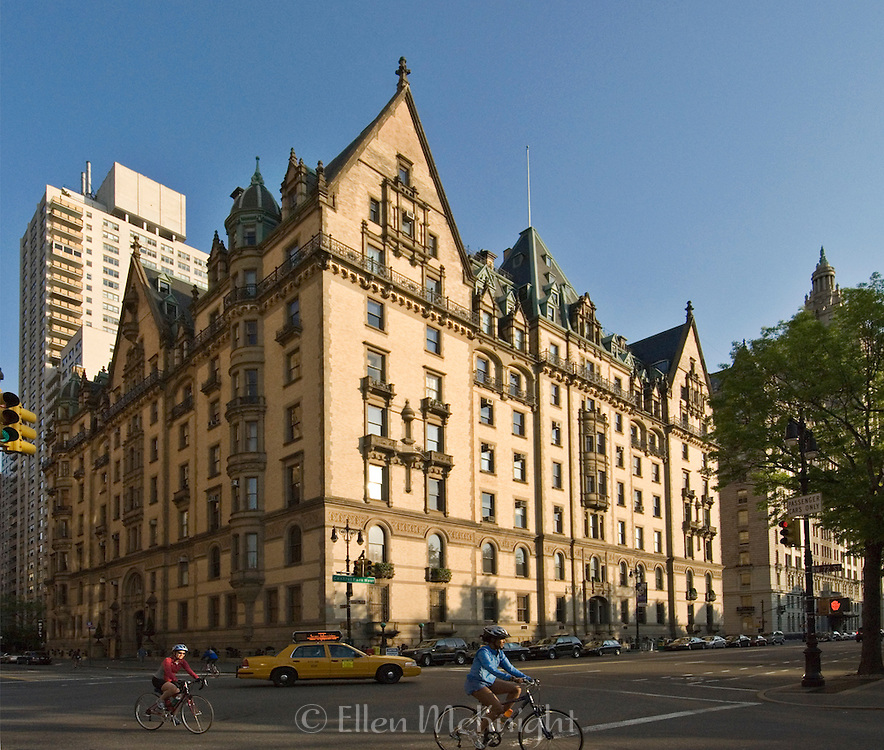 The Dakota Building on Central Park West on the Upper West Side of Manhattan
