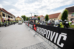 Akrapovic during 2nd Stage of 27th Tour of Slovenia 2021 cycling race between Zalec and Celje (147 km), on June 10, 2021 in Slovenia. Photo by Vid Ponikvar / Sportida