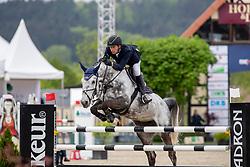 NIEBERG Gerrit (GER), Conthea 2<br /> Hagen - Horses and Dreams 2019 <br /> 2. Qualifikation Youngster Tour für 6+7j Pferde<br /> Preis der Gemeinde Hagen a.T.W.<br /> 26. April 2019<br /> © www.sportfotos-lafrentz.de/Stefan Lafrentz