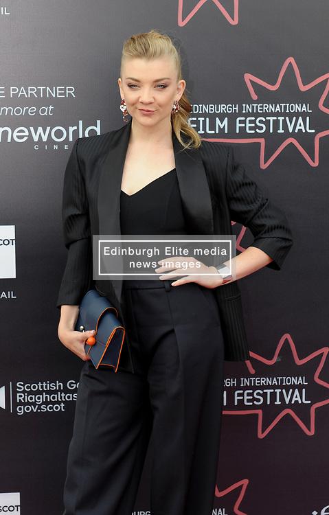 Edinburgh International Film Festival, Tuesday, 26th June 2018<br /> <br /> IN DARKNESS (EUROPEAN PREMIERE)<br /> <br /> Pictured:   Natalie Dormer<br /> <br /> (c) Aimee Todd   Edinburgh Elite media