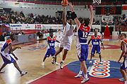 DESCRIZIONE : Roma Uleb Cup 2005-06 Lottomatica Virtus Roma Le Mans Sarthe Basket <br /> GIOCATORE : Hawkins <br /> SQUADRA : Lottomatica Virtus Roma <br /> EVENTO : Uleb Cup 2005-2006 <br /> GARA : Lottomatica Virtus Roma Le Mans Sarthe Basket <br /> DATA : 06/12/2005 <br /> CATEGORIA : Tiro <br /> SPORT : Pallacanestro <br /> AUTORE : Agenzia Ciamillo-Castoria/G.Ciamillo <br /> Galleria : Uleb Cup 2005-2006 <br /> Fotonotizia : Roma Uleb Cup 2005-2006 Lottomatica Virtus Roma Le Mans Sarthe Basket <br /> Predefinita :