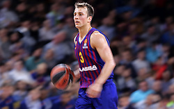 November 1, 2018 - Barcelona, Catalonia, Spain - Kevin Pangos during the match between FC Barcelona and Maccabi Tel Aviv, corresponding to the week 5 of the Euroleague, played at the Palau Blaugrana, on 01 November 2018, in Barcelona, Spain. (Credit Image: © Joan Valls/NurPhoto via ZUMA Press)