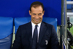 August 13, 2017 - Rome, Italy - Massimiliano Allegri manager of Juventus  before the Italian Supercup match between Juventus and SS Lazio at Stadio Olimpico on August 13, 2017 in Rome, Italy. (Credit Image: © Matteo Ciambelli/NurPhoto via ZUMA Press)
