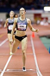 Millrose Games indoor track and field: womens 600 meters, Erica Moore