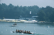 Milan ITALY,  General View  over the course at the Boats racking and storage area. 1997 Nations Cup U23  World Rowing Championships. Course, Idra Scala. Province of Milan.<br /> <br /> [Mandatory Credit; Peter Spurrier/Intersport-images] 1997 U23 Nations Cup U23 Championships. Milan Italy
