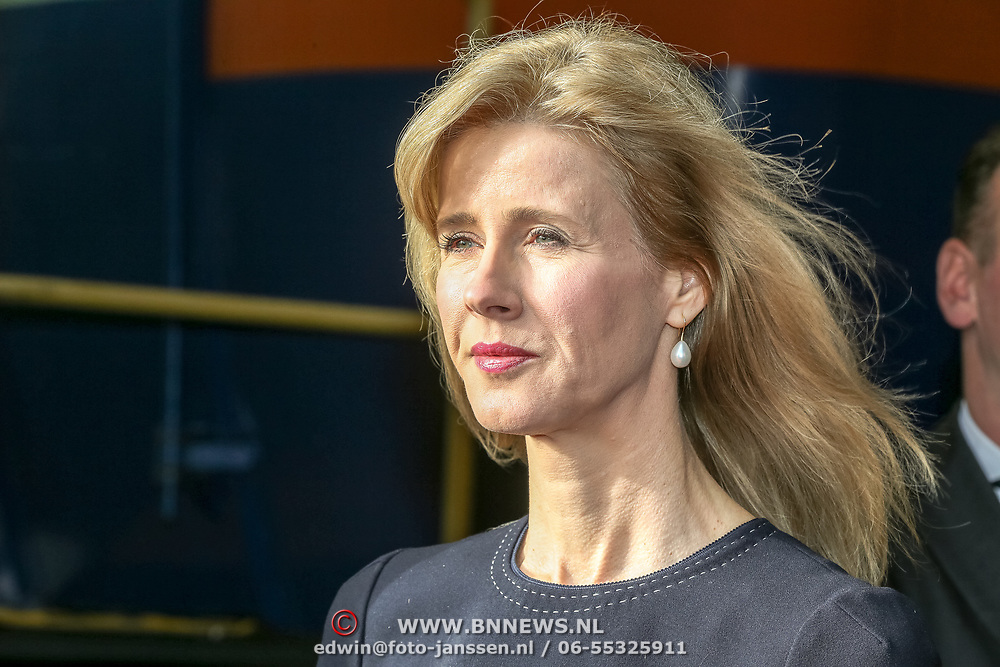 NLD/Amersfoort/20190305  - Koningin Maxima bij jubileumsymposium Qredits , Mona Keijzer