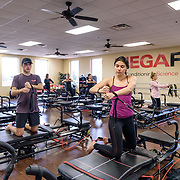 MEGAFIT Pilates Class Marketing Images